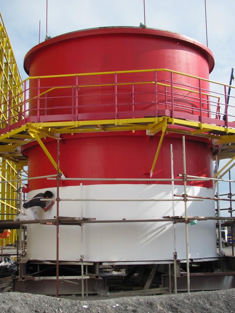Dimovodne cevi termoelektrarna Sisak